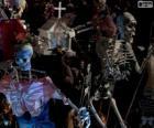 Esqueletos de Halloween