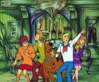 Scooby Doo y su pandilla de amigos tienen miedo