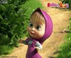 Masha, la niña, el personaje principal de Masha y el oso