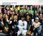 Lewis Hamilton, campeón del mundo de F1 2014 con Mercedes
