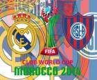 Real Madrid vs San Lorenzo. Final de Copa Mundial de Clubes de la FIFA 2014 Marruecos