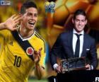 Premio Puskás de la FIFA 2014 para James Rodríguez