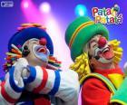 Patatí y Patatá en una actuación