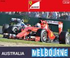Vettel G.P Australia 2015
