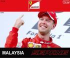 Vettel G.P. Malasia 2015