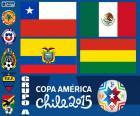 El grupo A de la Copa América Chile 2015, formado por Chile, México, Ecuador y Bolivia