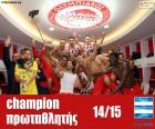 Olympiacos FC campeón 14-15