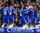 Chelsea FC campeón 2014-15