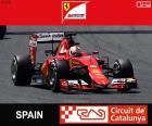 Vettel G.P España 2015