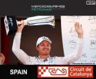 Rosberg G.P España 2015