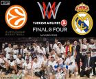 Real Madrid, Euroliga 2015