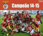 Benfica, campeón 2014-2015