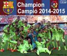 FC Barcelona, campeón 14-15