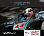 Hamilton G.P. Mónaco 2015