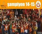 Galatasaray, campeón 14-15