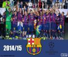 Barça, campeón Champions 15