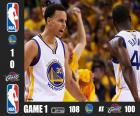 Finales NBA 15, 1er Partido