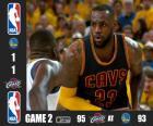 Finales NBA 15, 2º Partido