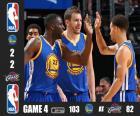 Finales NBA 15, 4º Partido