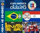 BRA - PAR, Copa América 15