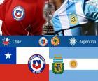 CHI - ARG, final Copa América 2015