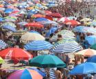 Sombrillas de playa