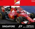 Raikkonen G.P Singapur 2015