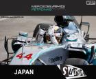 Hamilton G. P de Japón 2015