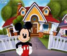 Mickey Mouse y su casa