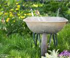 Carretilla de jardinero