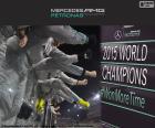 Mercedes F1 Team campeón 15