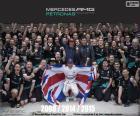 Hamilton, campeón F1 2015