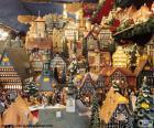 Mercado de Navidad, adornos