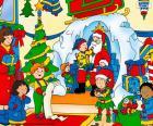 Caillou en Navidad