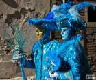 Disfraces azules