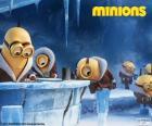 Los Minions en la Antártida