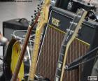 Guitarras y amplificador