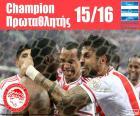 Olympiacos FC campeón 15-16