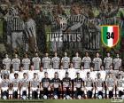 Juventus, campeón de la liga italiana de fútbol. Serie A Lega Calcio 2015-2016