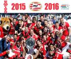 PSV Eindhoven, campeón15-16