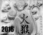 2016 año chino mono de fuego