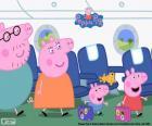 Vacaciones familia Peppa Pig