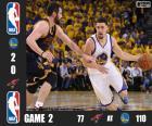 Finales NBA 16, 2º Partido