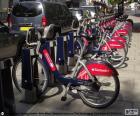 Boris Bikes, Londres