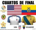 USA - ECU, Copa América 16