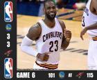Finales NBA 16, 6º Partido