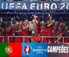 Portugal, campeón Euro 2016