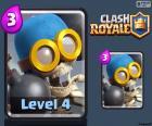 Bombardero de Clash Royale