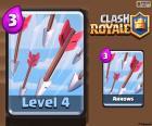 Flechas de Clash Royale