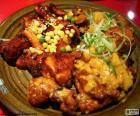 Pollo al estilo Coreano